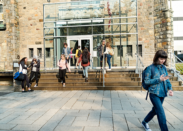 Students dig heels into on-campus experiences and living, even as tertiary learning goes increasingly online
