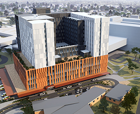 Nepean Hospital Redevelopment - Stage 1 & 2